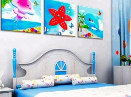 Suitable paintings for kids' room